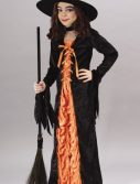 Witch Orange Mystic Costume