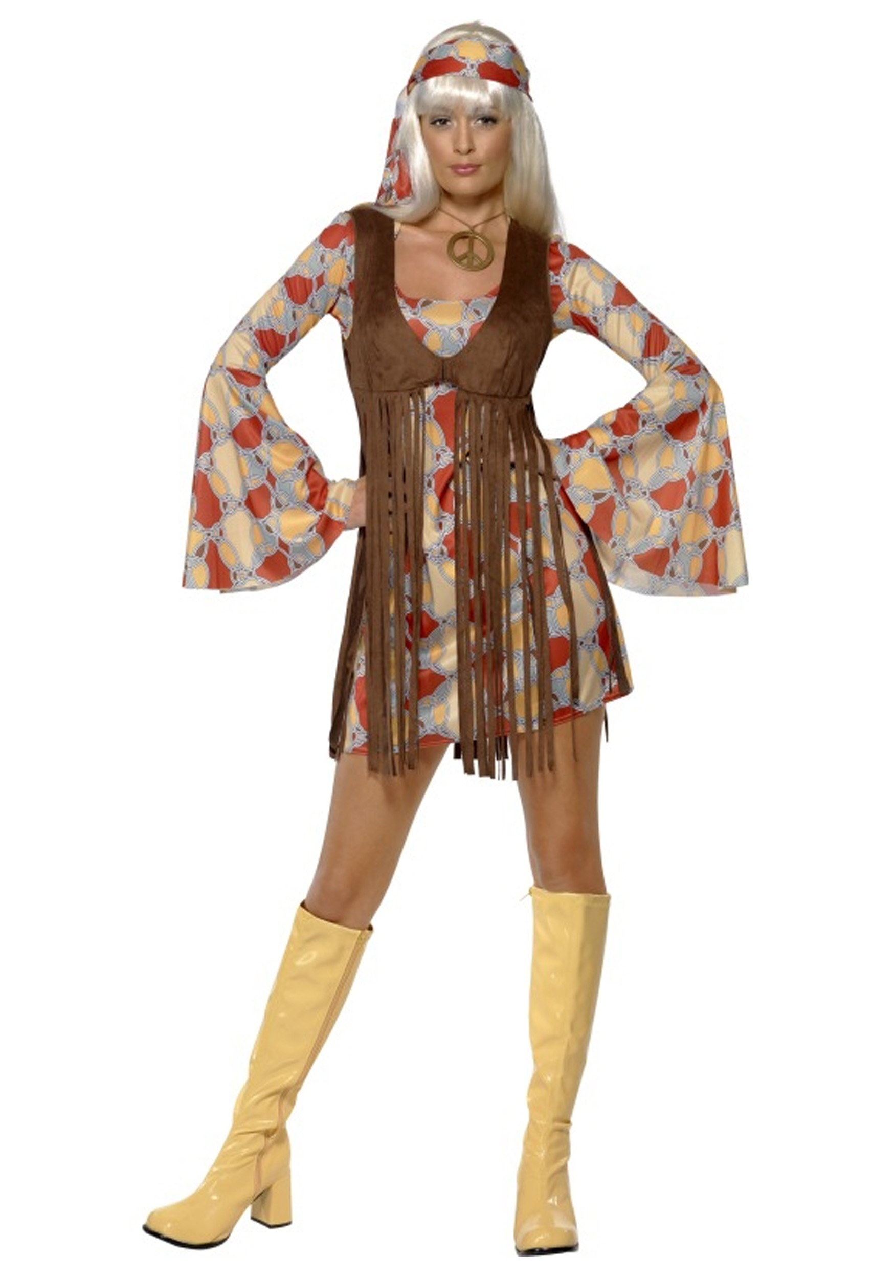 Womens 1960s Groovy Baby Costume
