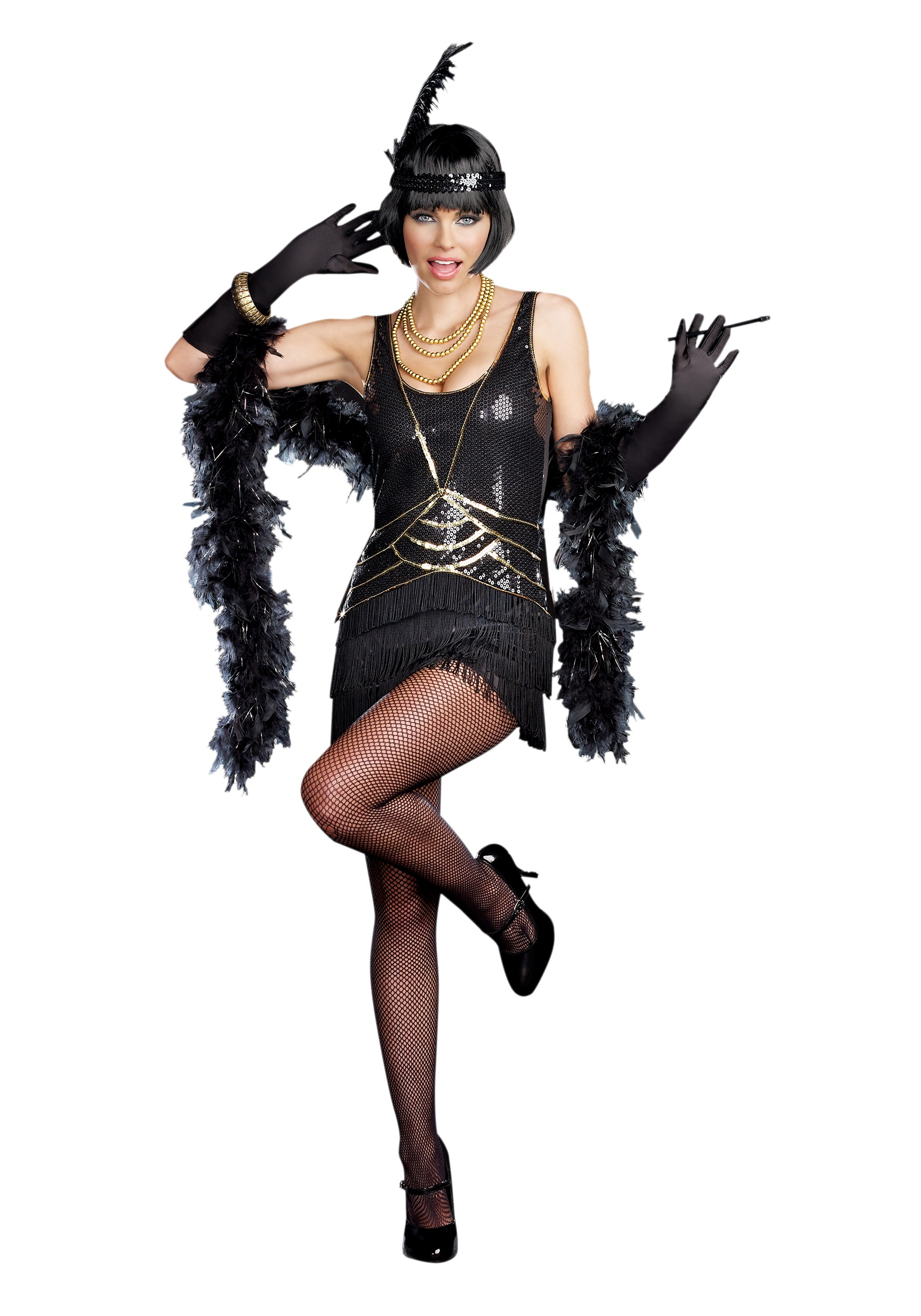 Women's Ain't Misbehavin' Flapper Costume