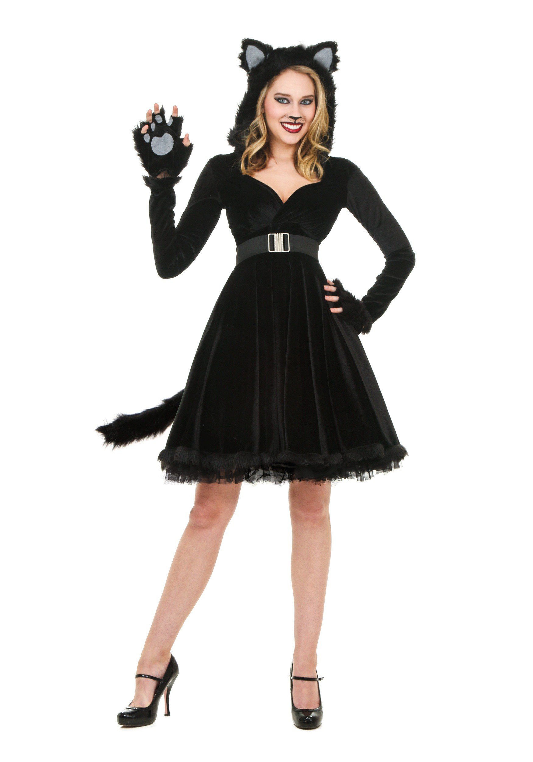 Women's Black Cat Costume