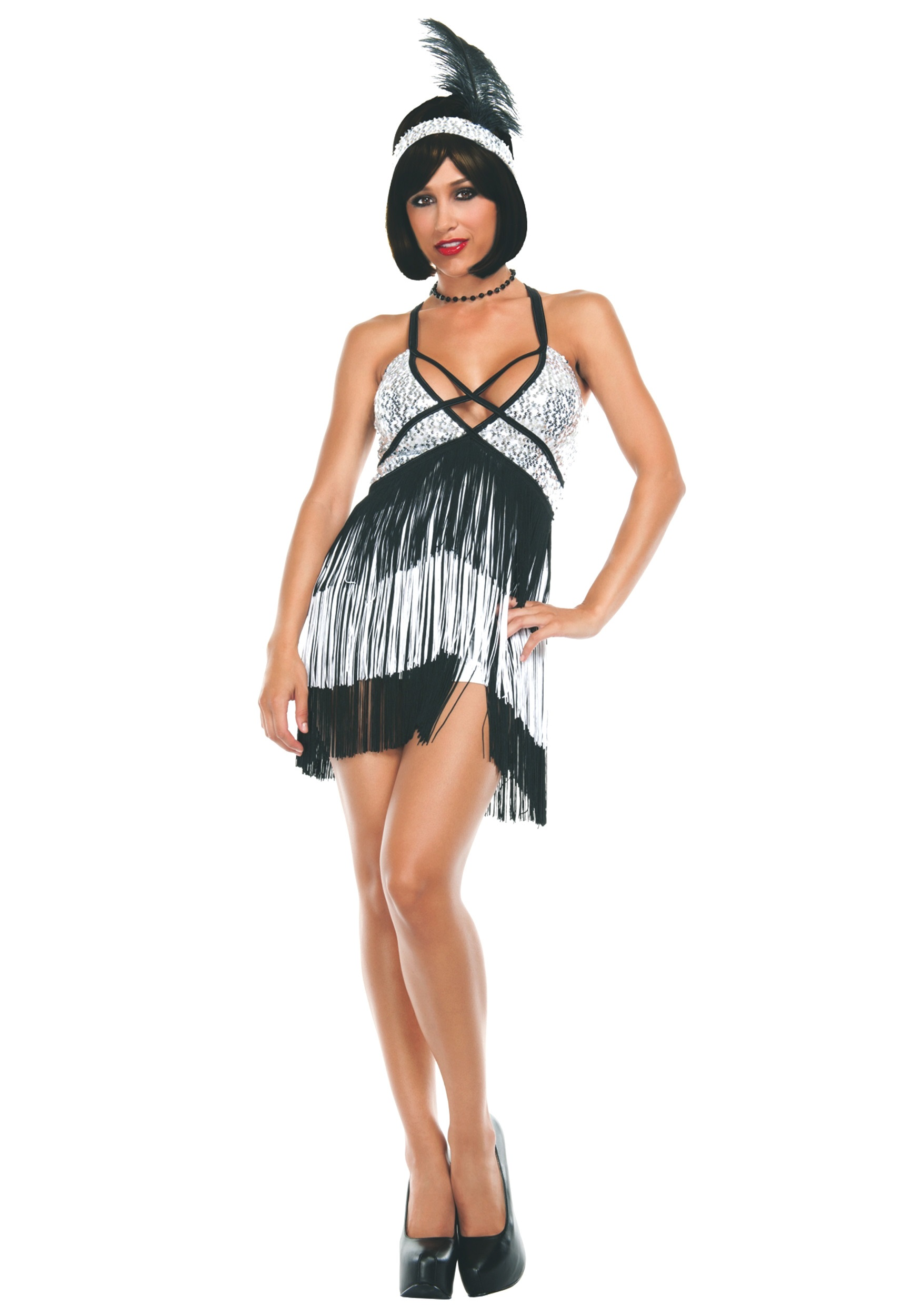 Women's Boardwalk Flapper Costume