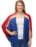 Women's Captain Marvel Dolman Shrug