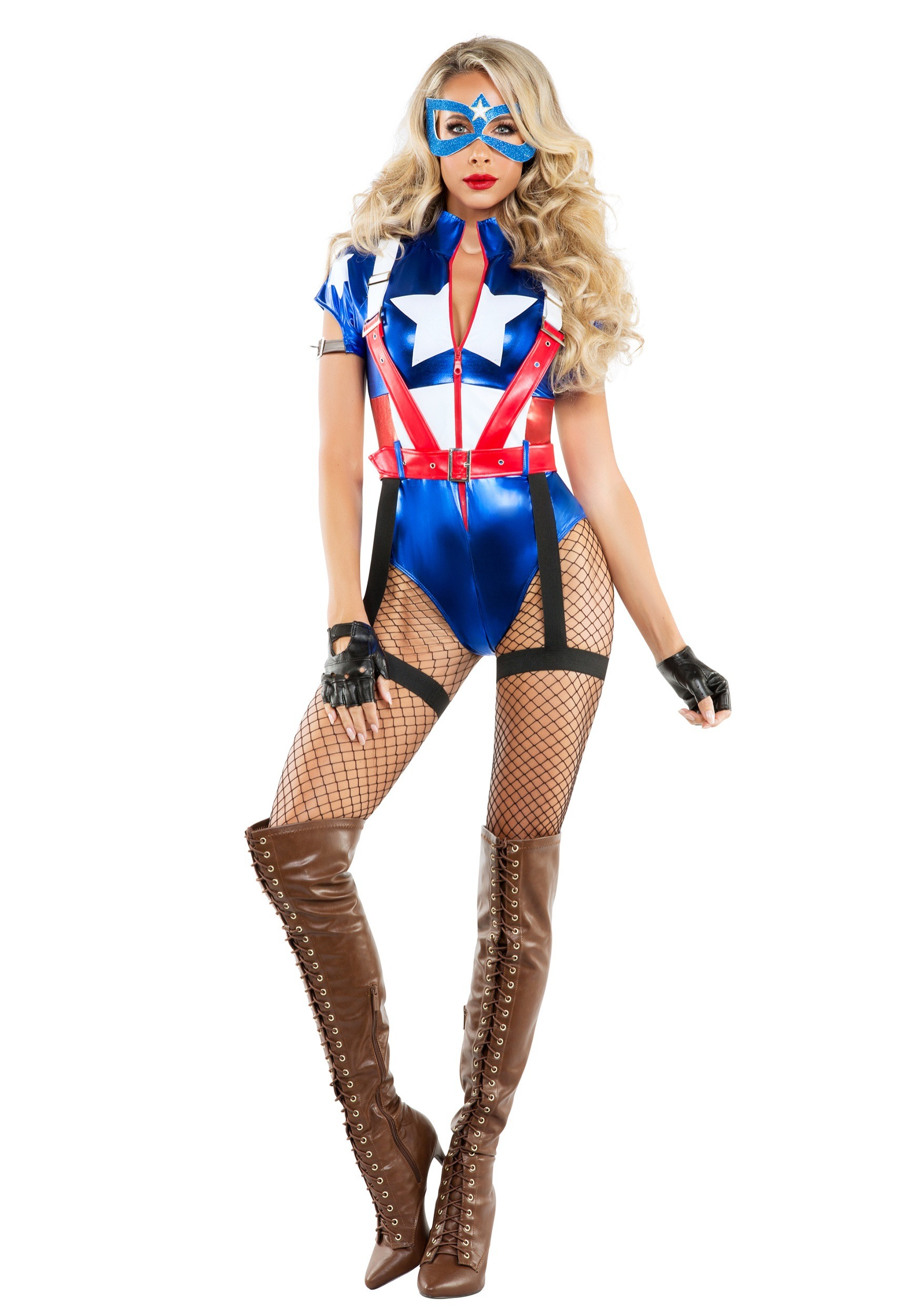 Women's Captain USA Costume