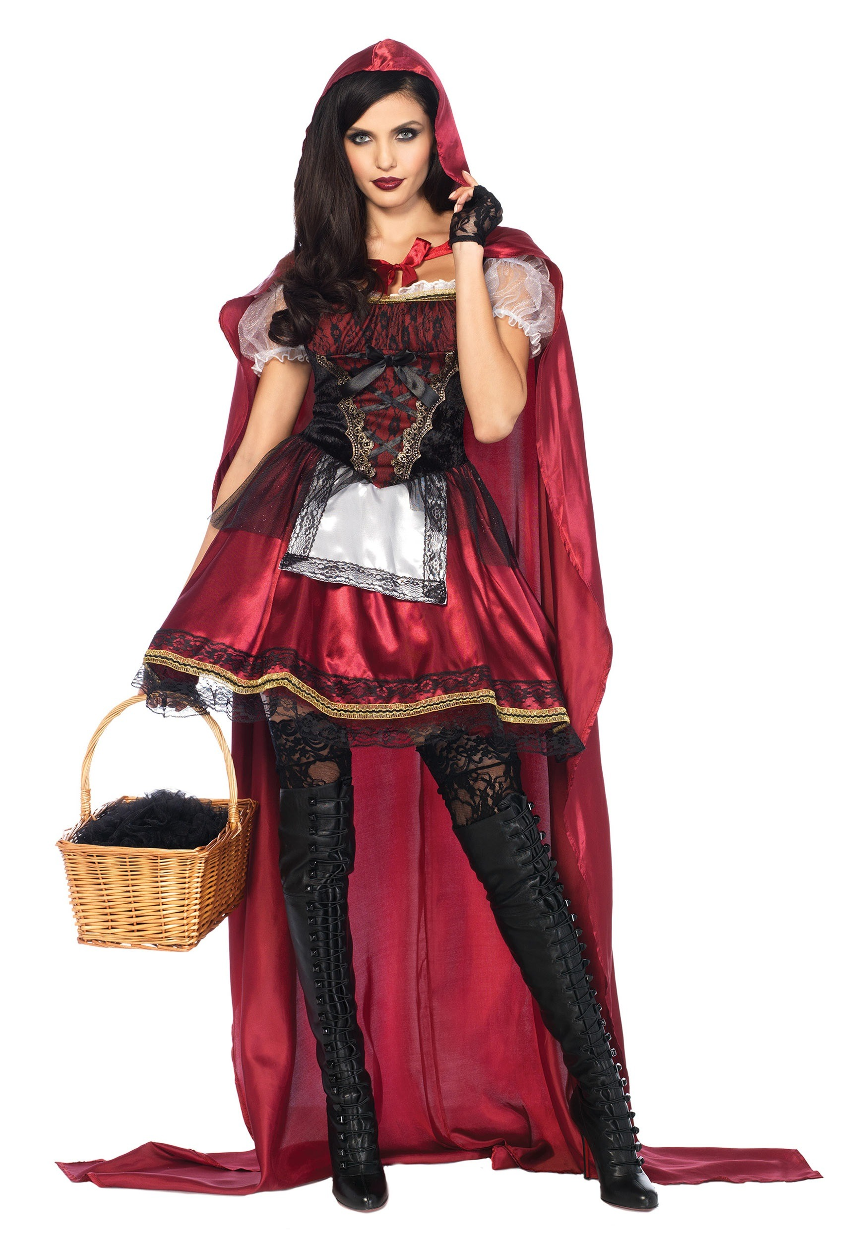 Women's Captivating Miss Red Costume