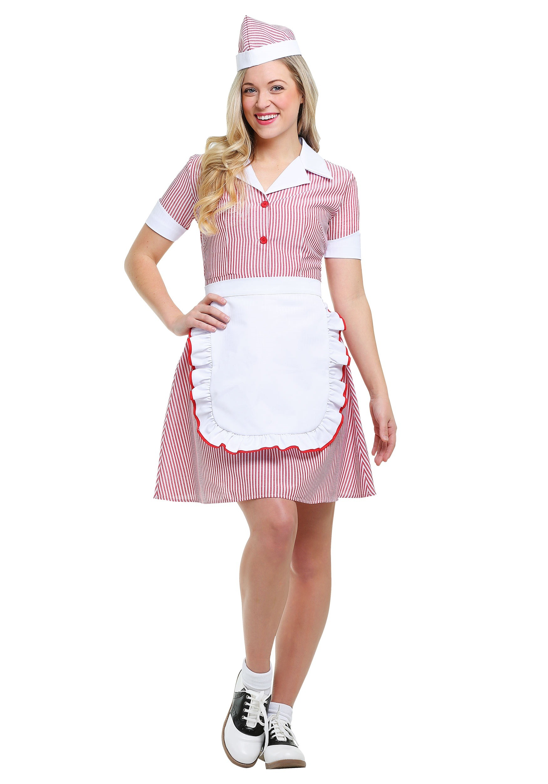 Women's Car Hop Costume