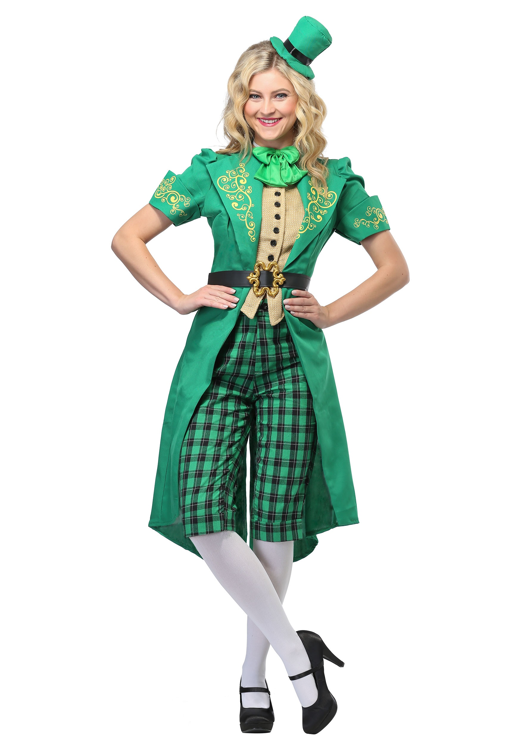 Women's Charming Leprechaun Costume