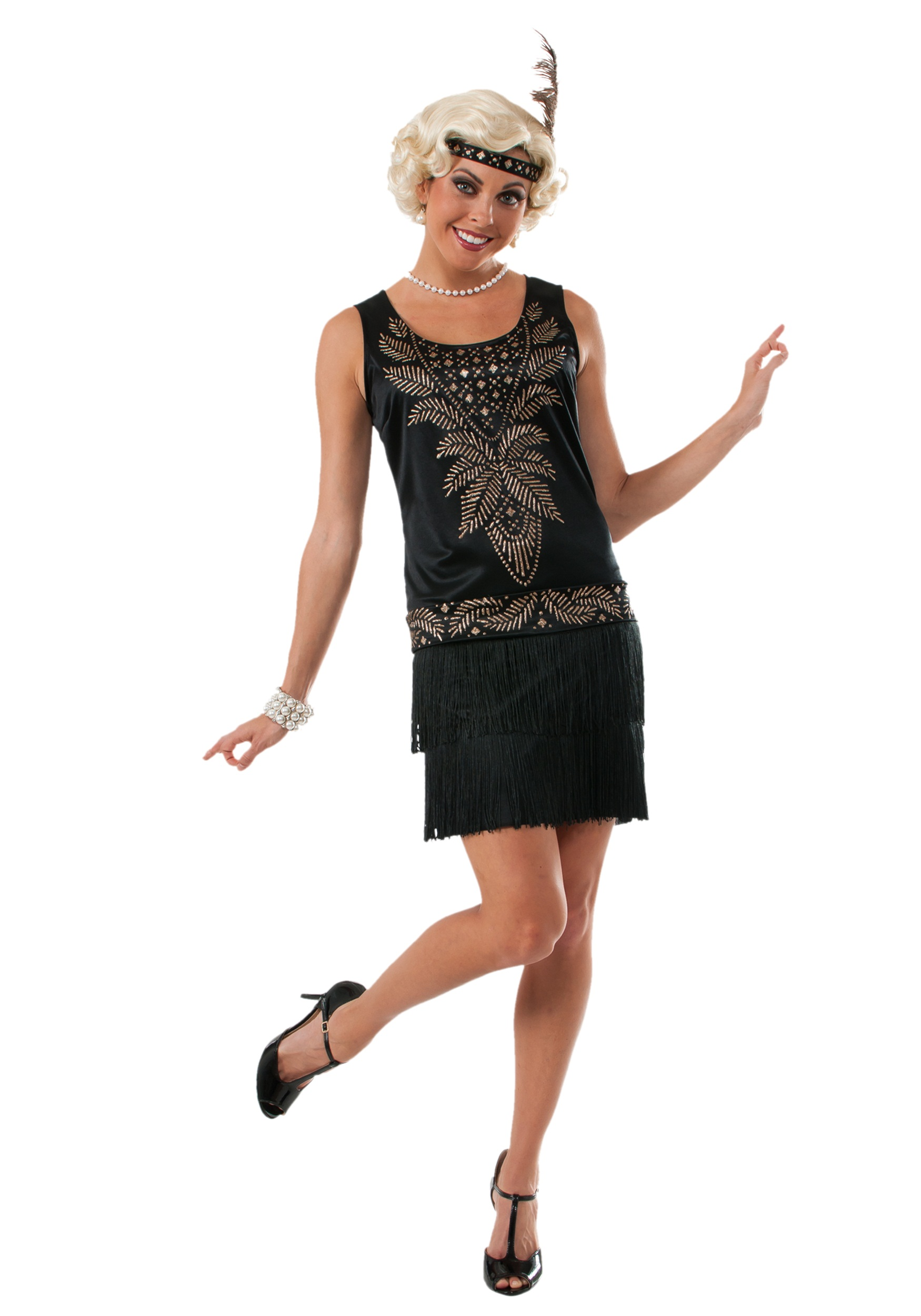 Women's Cocktail Flapper Costume