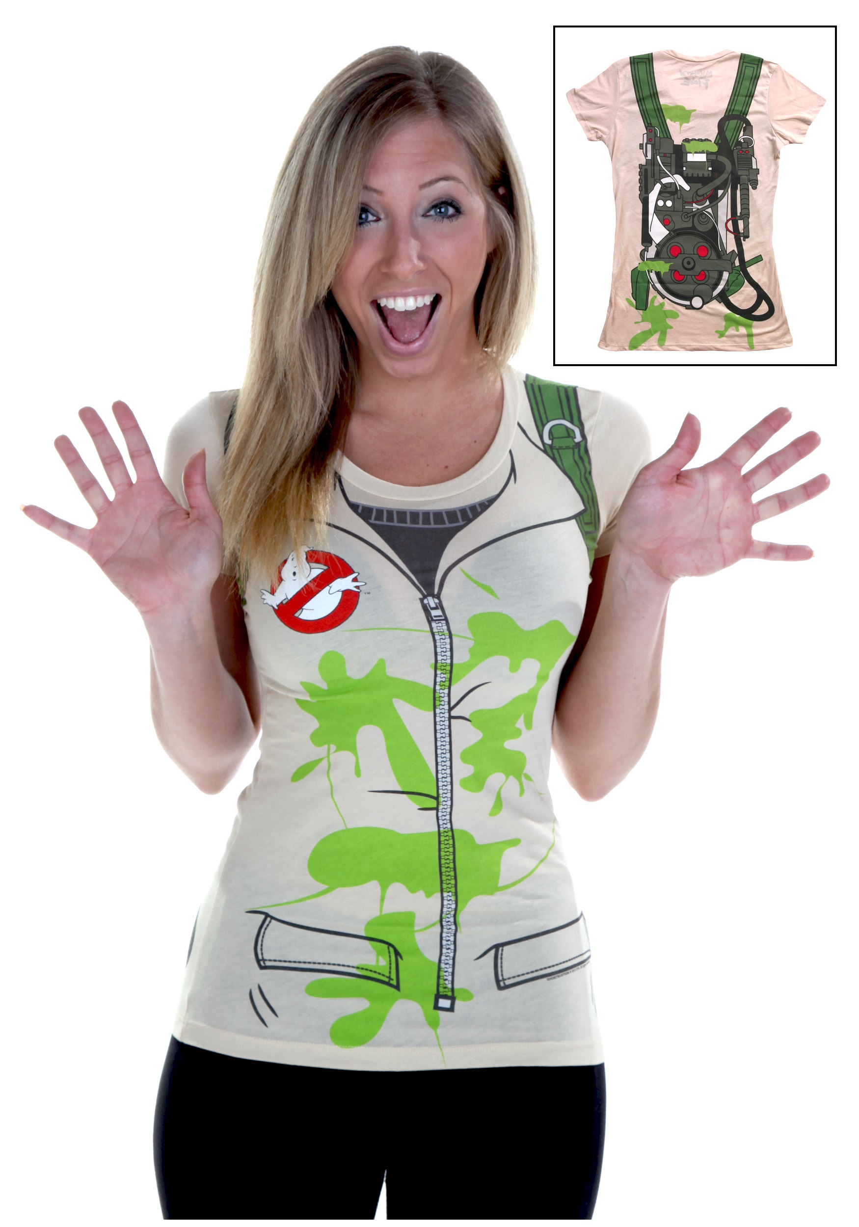 Womens Costume Ghostbusters T-Shirt