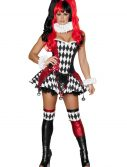 Women's Court Jester Cutie Costume