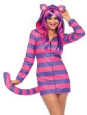 Women's Cozy Cheshire Cat Costume