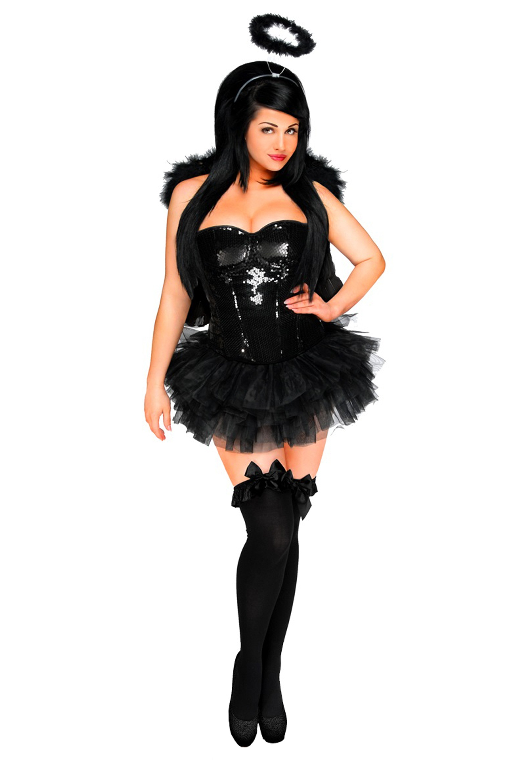 Women's Dark Angel Corset Costume