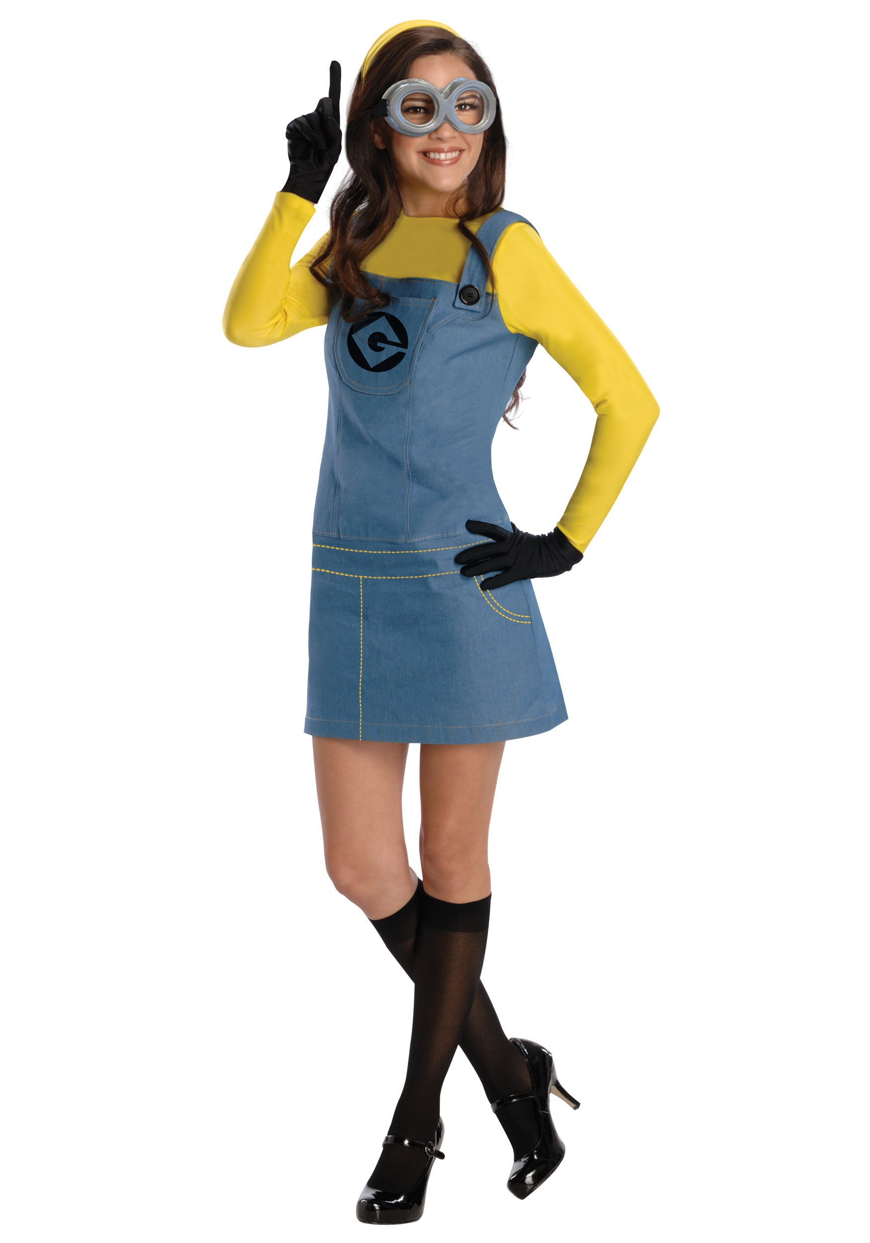Women's Female Minion Costume