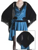 Women's Fringed Flapper Shawl