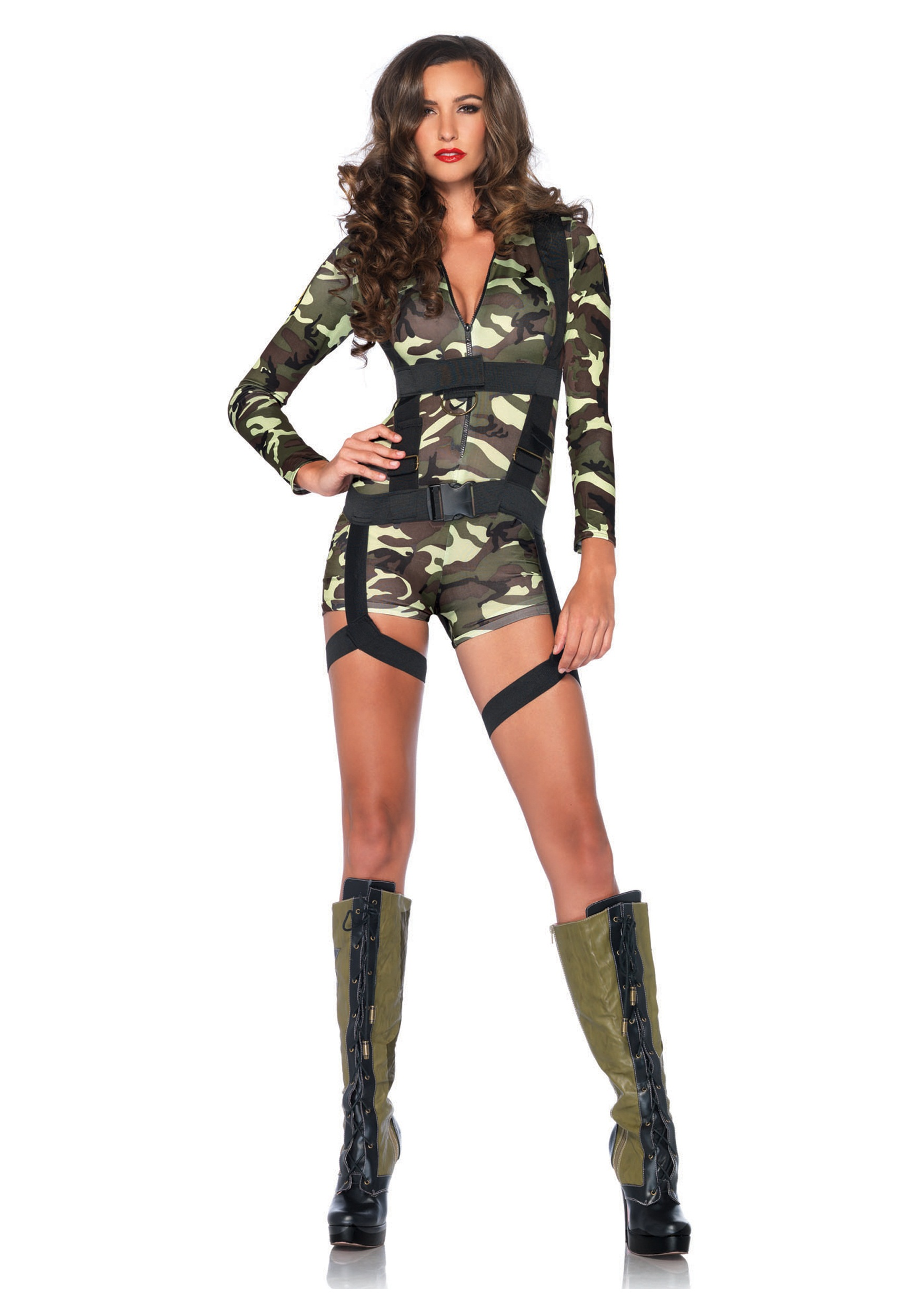 Women's Goin' Commando Army Costume