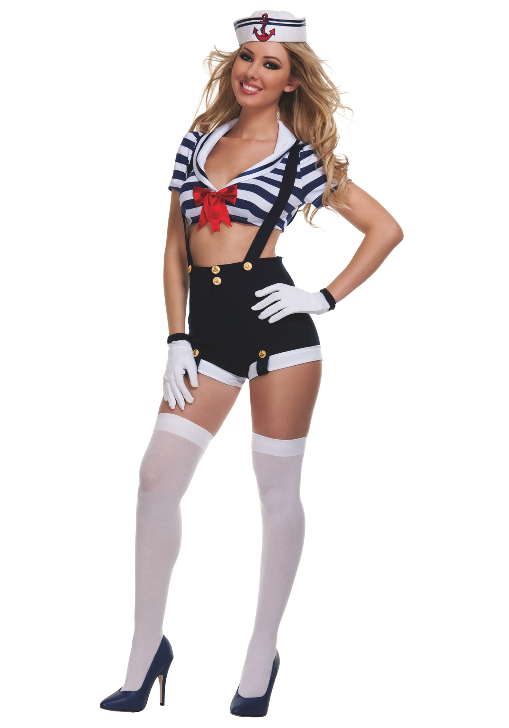 Womens Harbor Hottie Sailor Costume