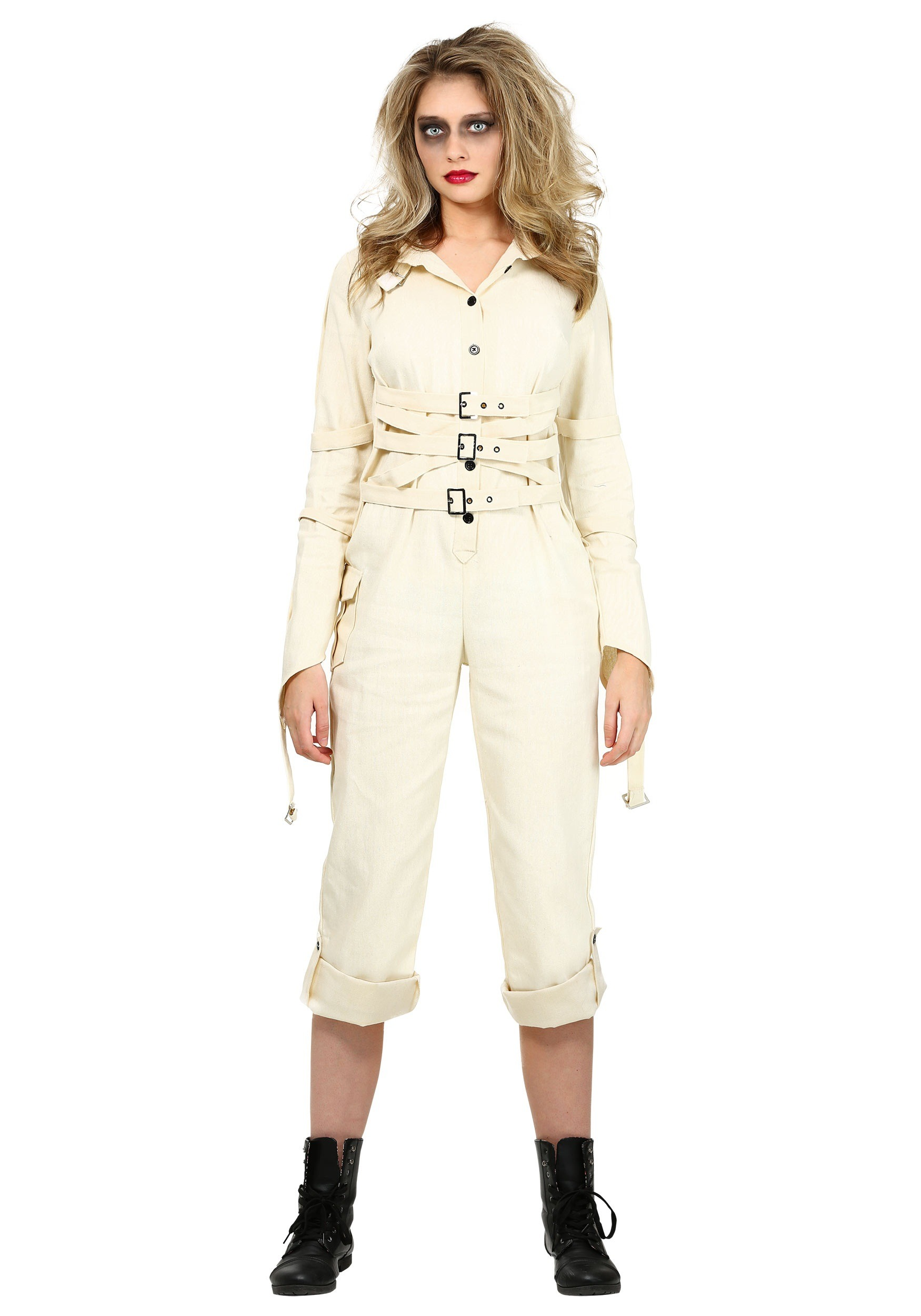 Women's Insane Asylum Straitjacket Costume