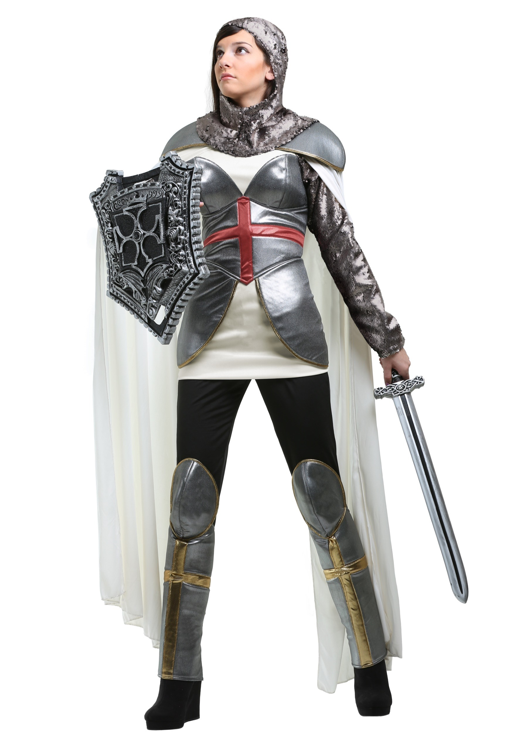 Women's Joan of Arc Costume