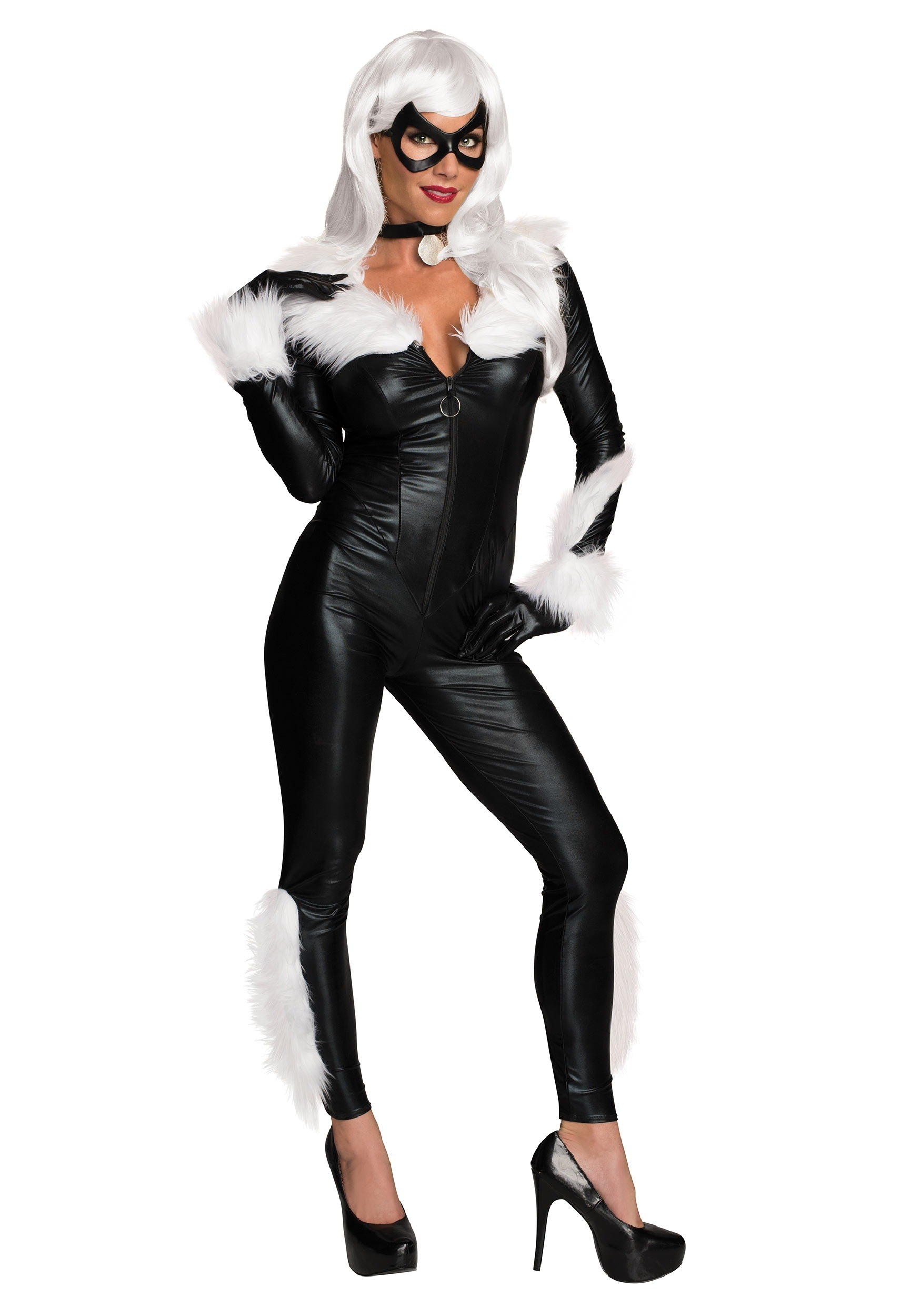 Women's Marvel Black Cat Costume