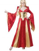 Women's Medieval Queen Costume