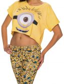 Women's Minions Crop Top