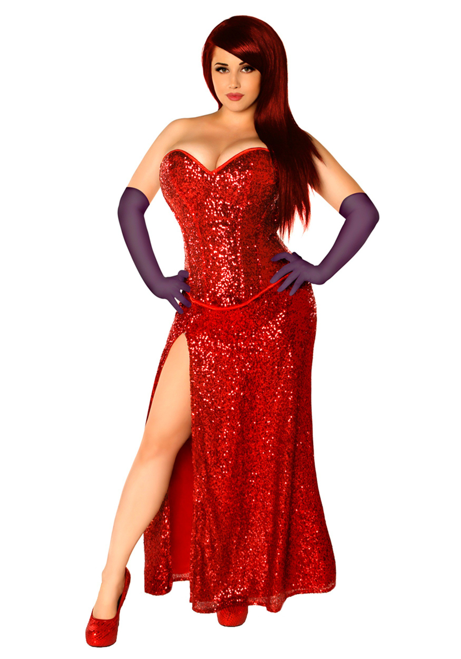 Women's Miss Jessica Corset Costume