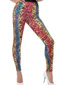 Women's Neon Leopard Print Leggings