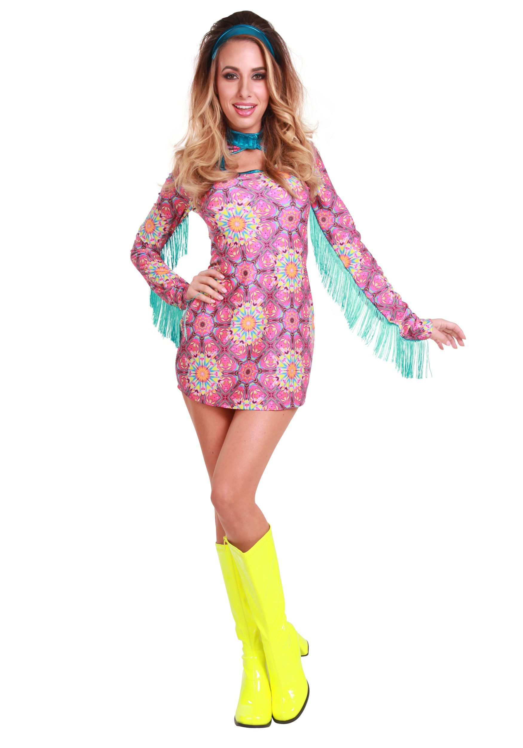 Women's Plus Size Summer of Love Hippie Costume