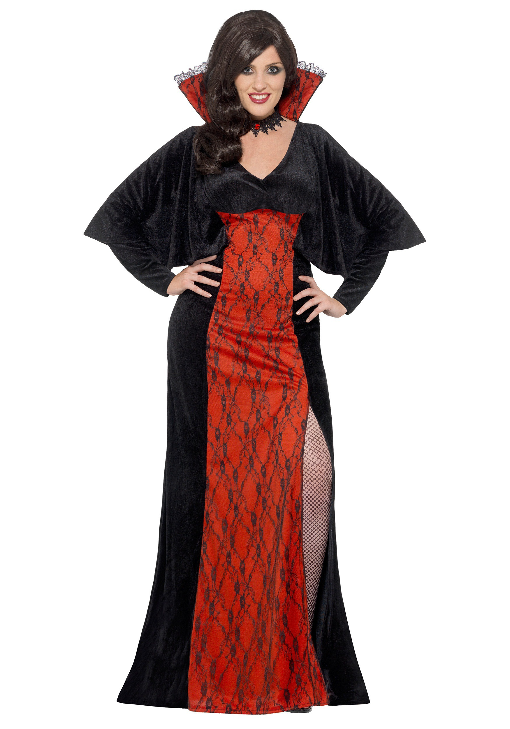Women's Plus Size Vamp Costume