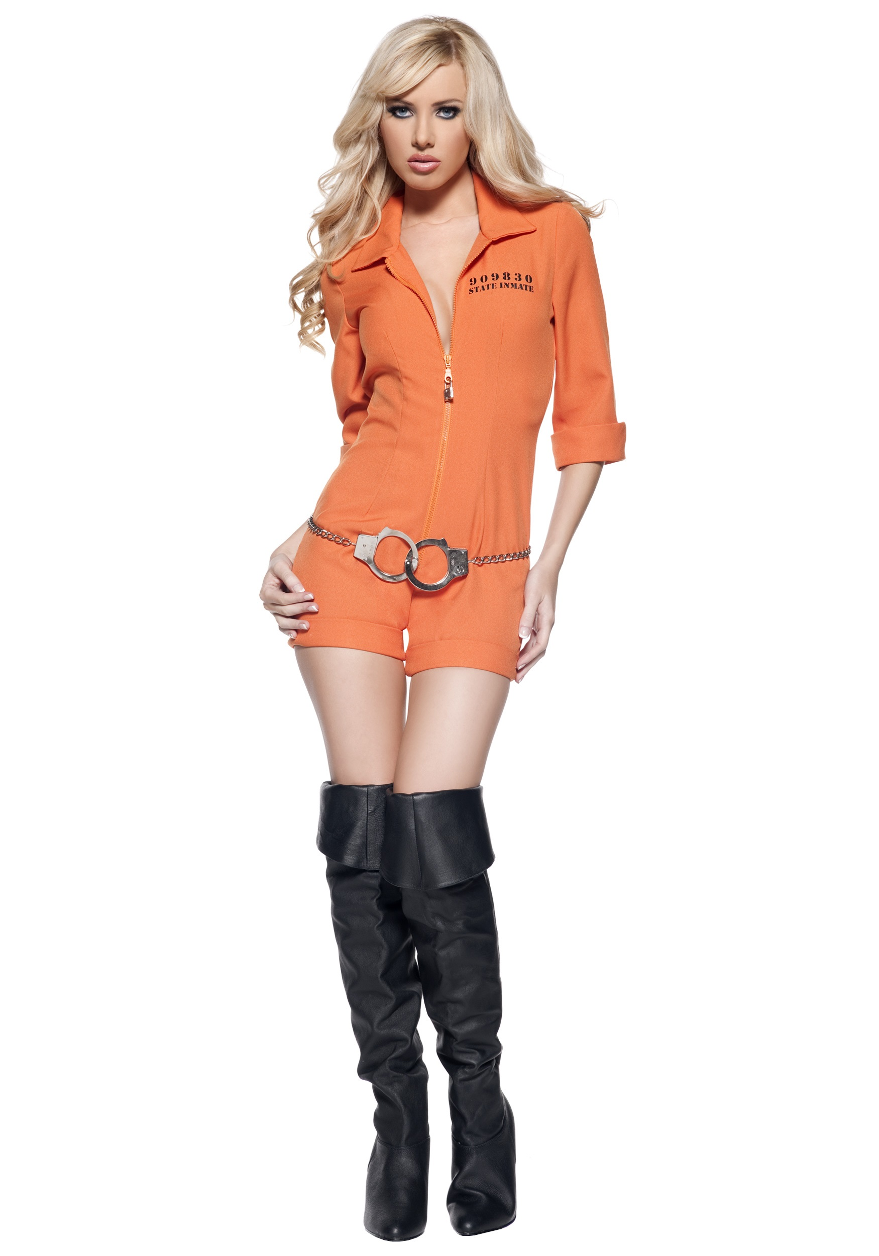 Women's Prison Jumpsuit