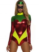 Womens Red Superhero Accomplice Costume