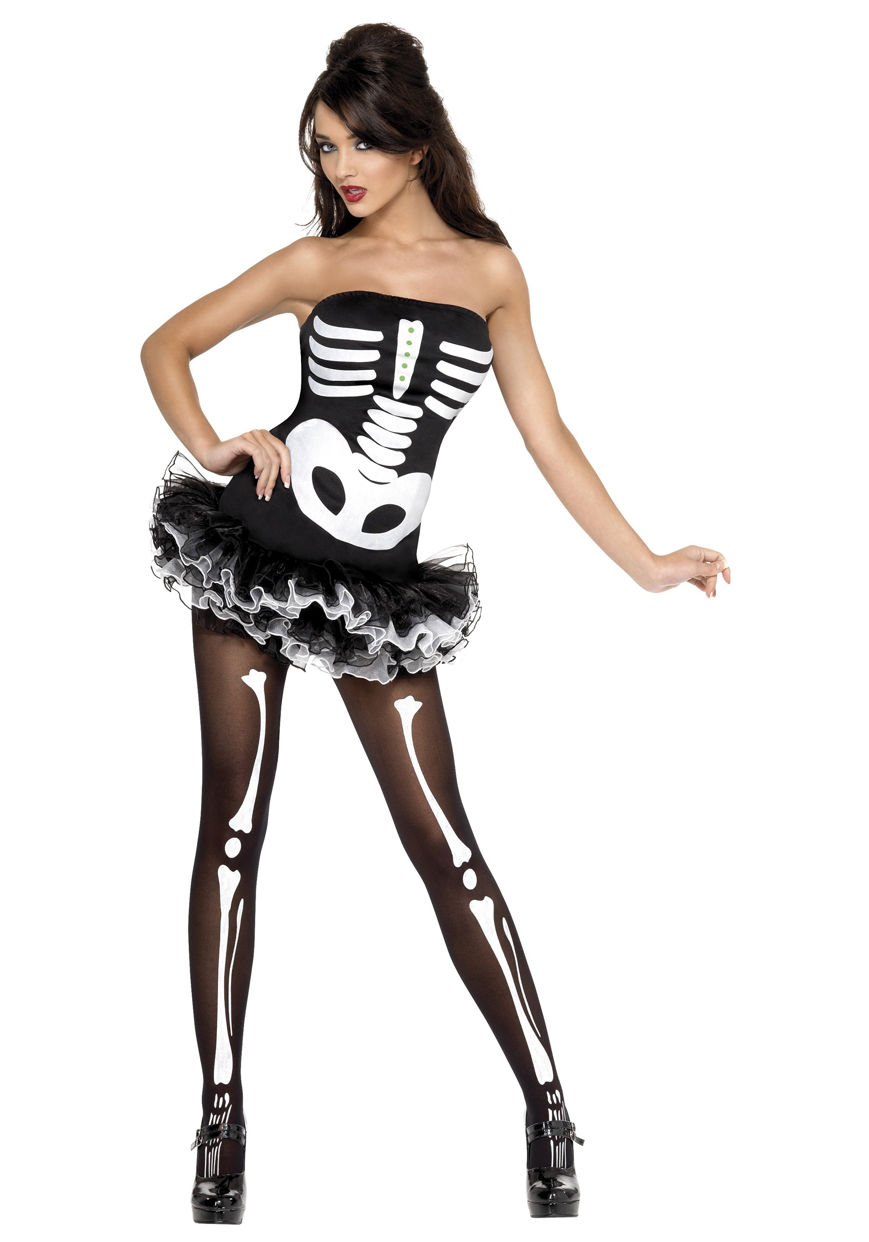 Women's Sexy Skeleton Costume