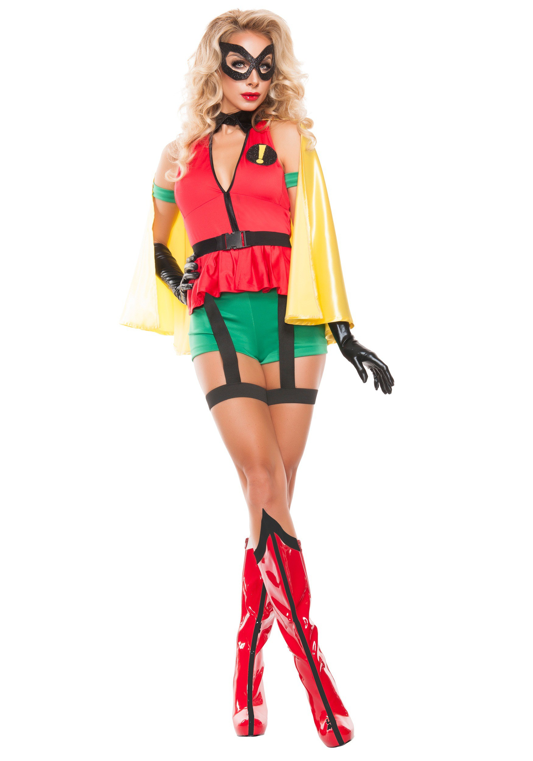 Womens Sidekick Girl Costume