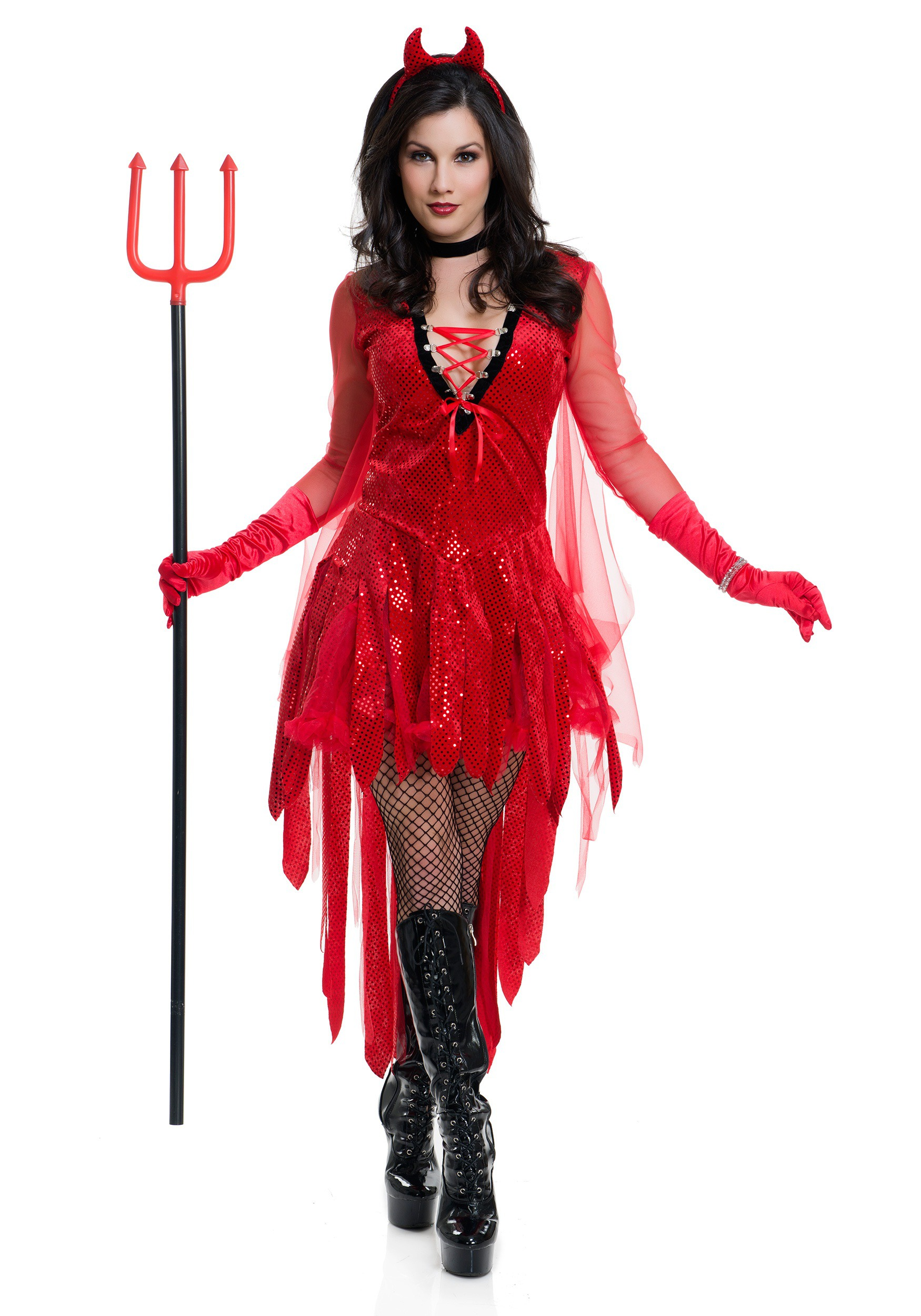 Women's Sizzling Devil Costume