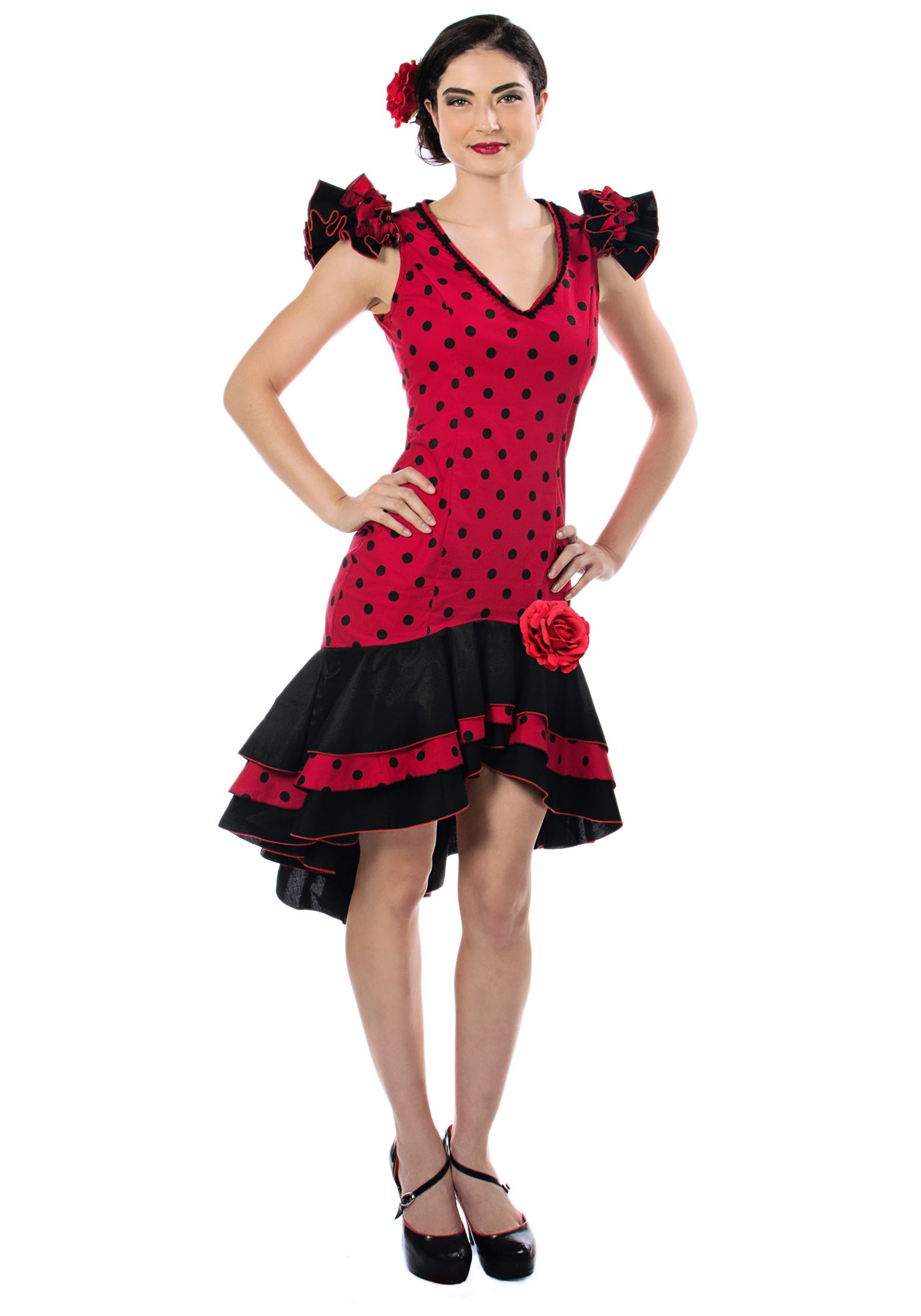 Women's Spanish Dancer Costume