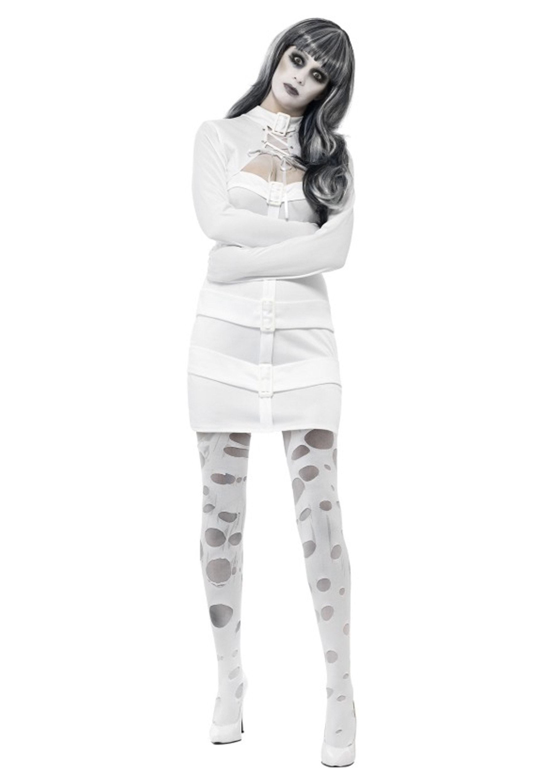 Womens Straight Jacket Costume