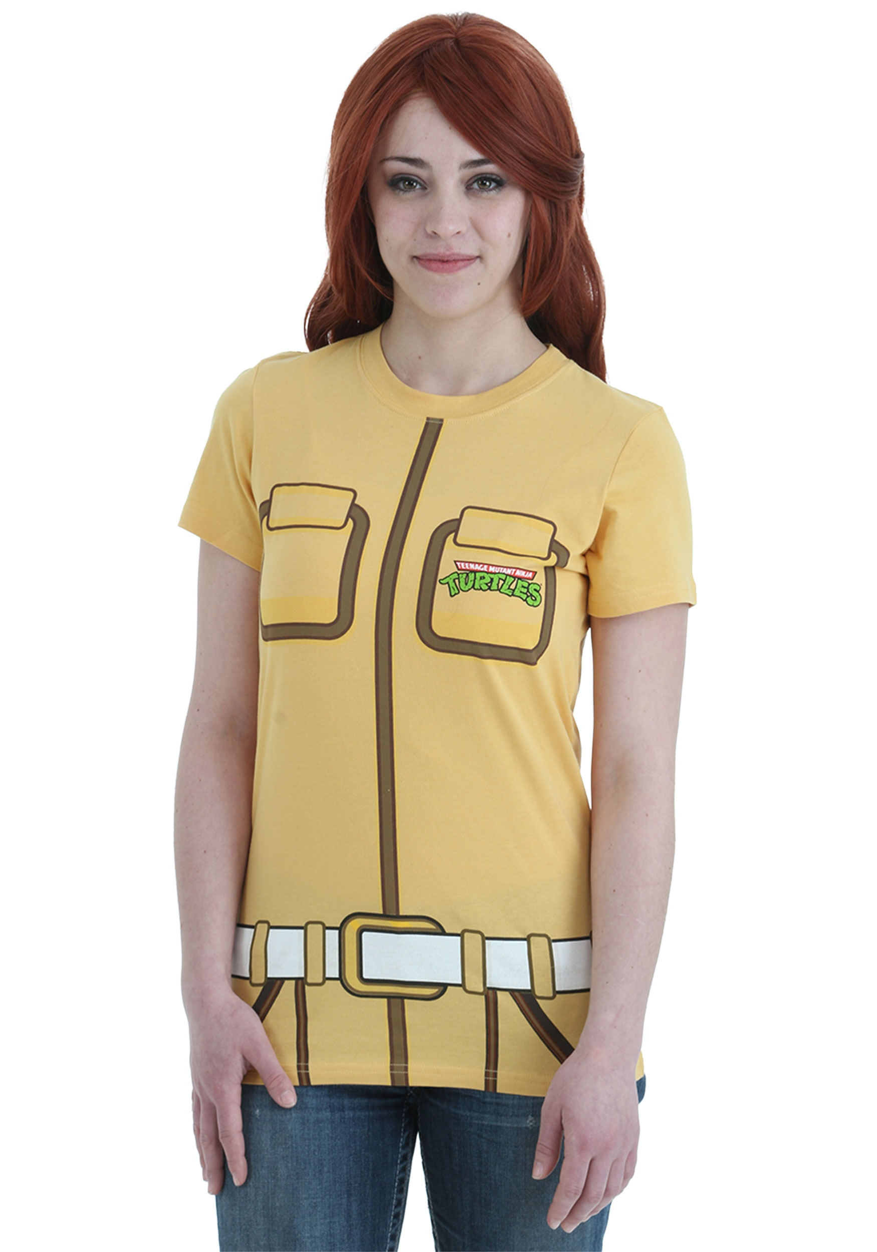 Womens TMNT I Am April O' Neil T-Shirt