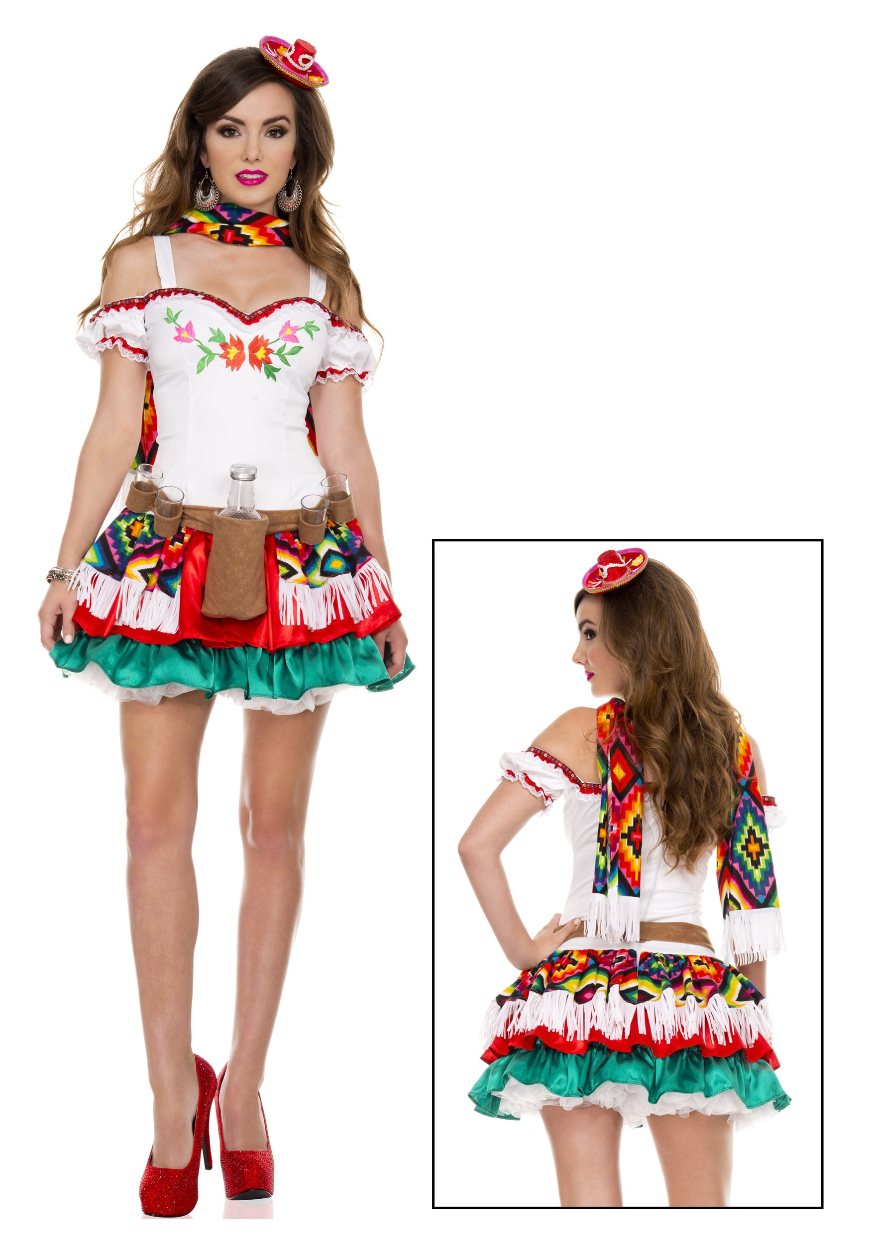 Women's Tequila Princess Costume
