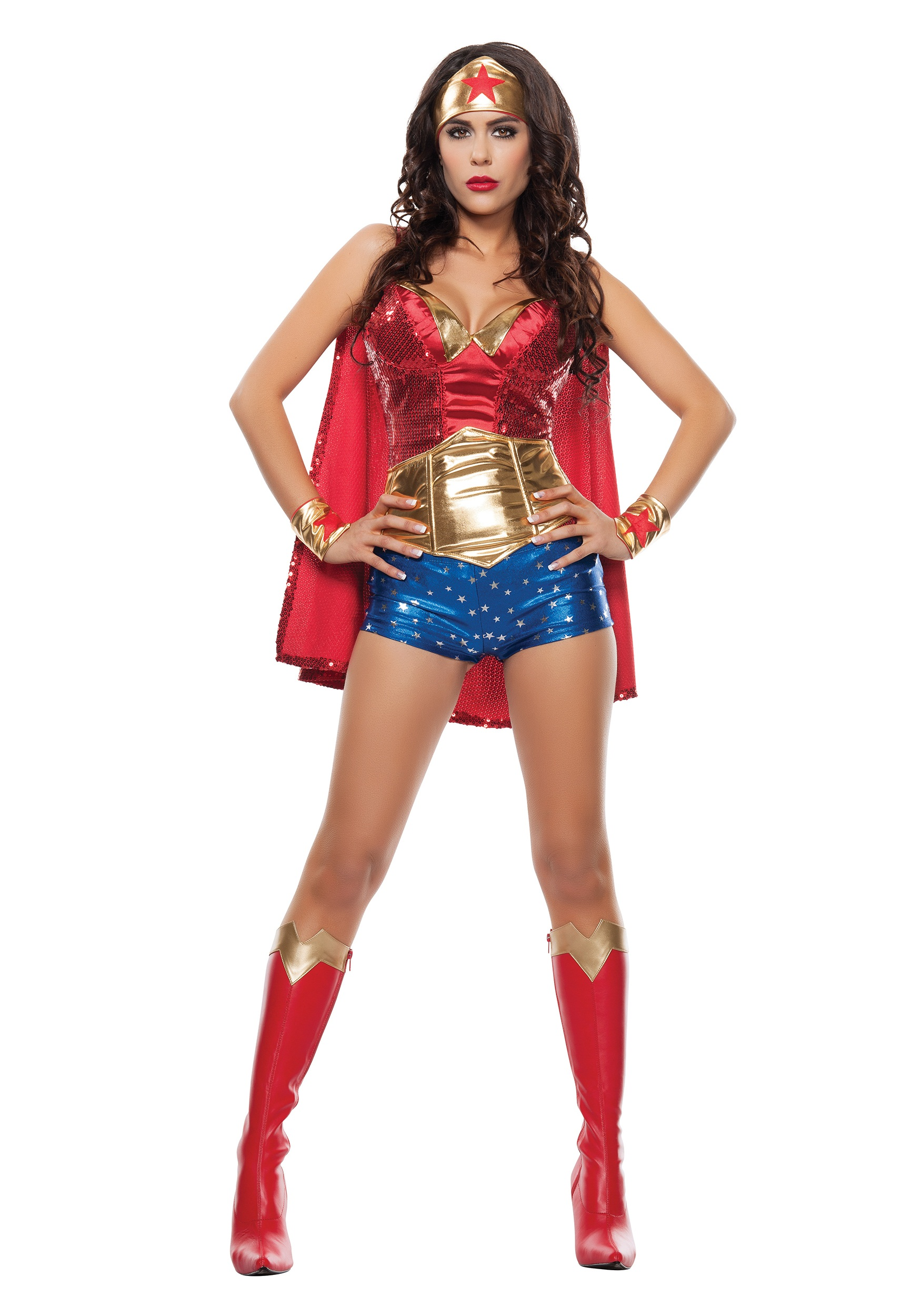 Women's Wonder Lady Costume