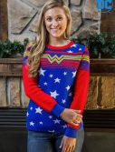 Women's Wonder Woman Tunic Sweater