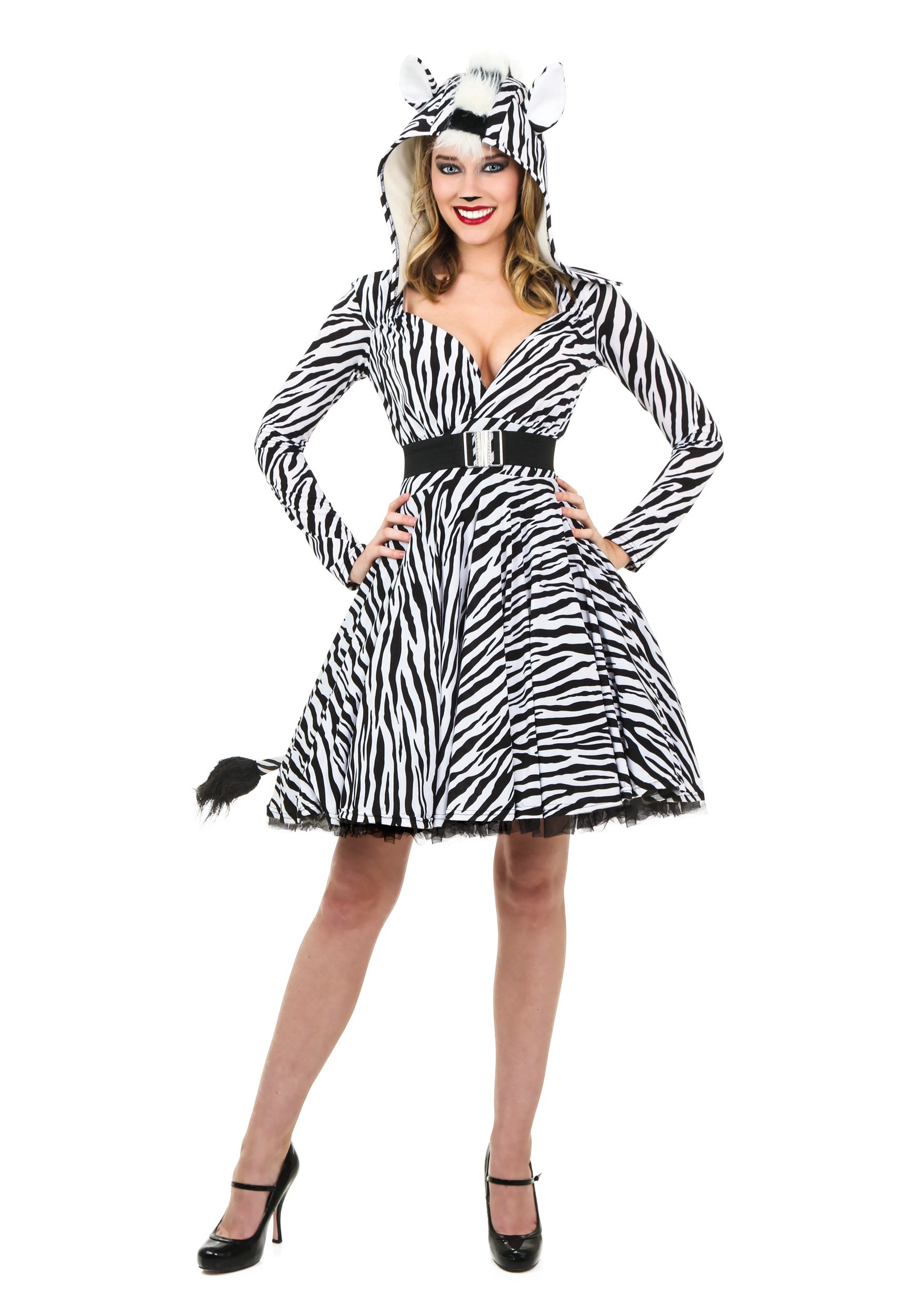 Women's Zebra Costume