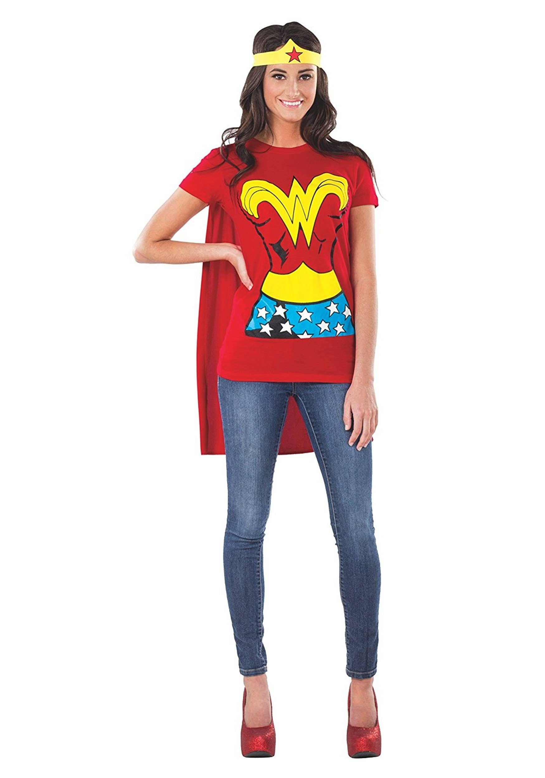 Wonder Woman T-Shirt Costume