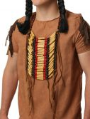 Wooden Beaded Native American Breastplate