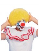 Yellow Afro Clown Wig