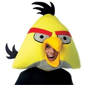 Yellow Angry Bird Mask