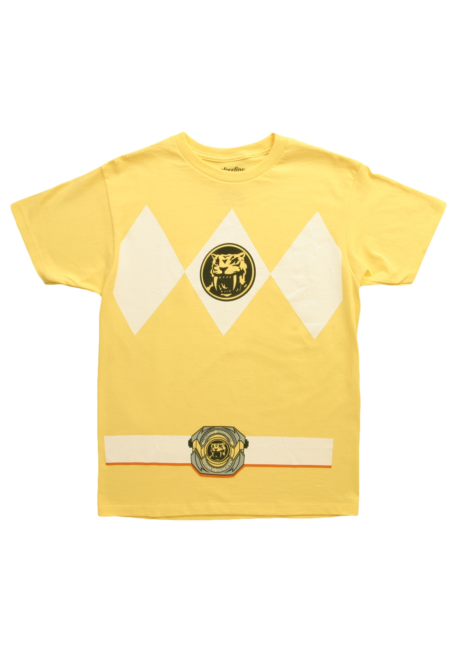 Yellow Power Ranger T-Shirt
